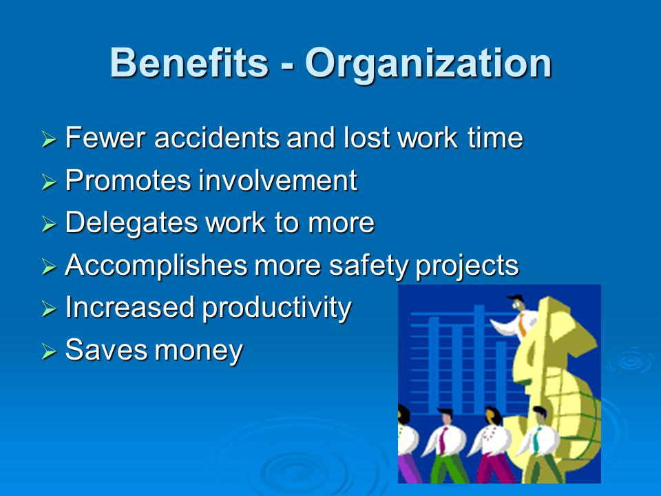 Benefits - Organization