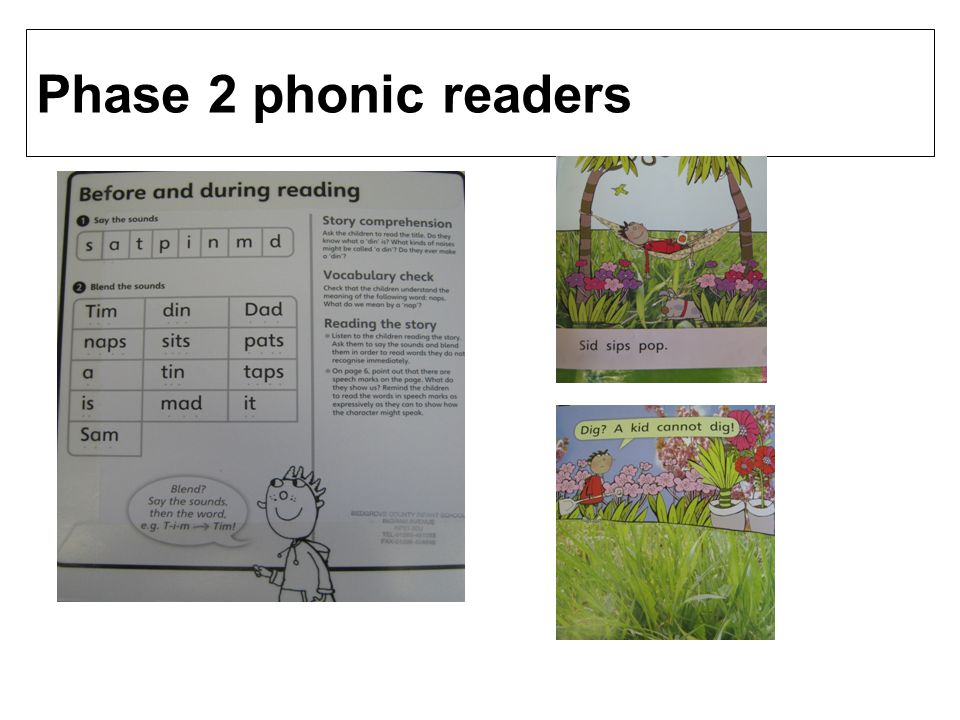 Phase 2 phonic readers