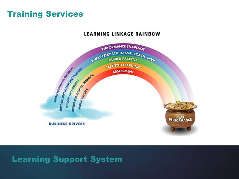 Training Services Learning Support System