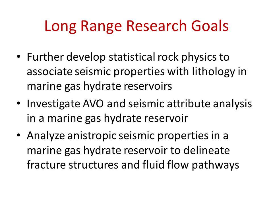 Long Range Research Goals