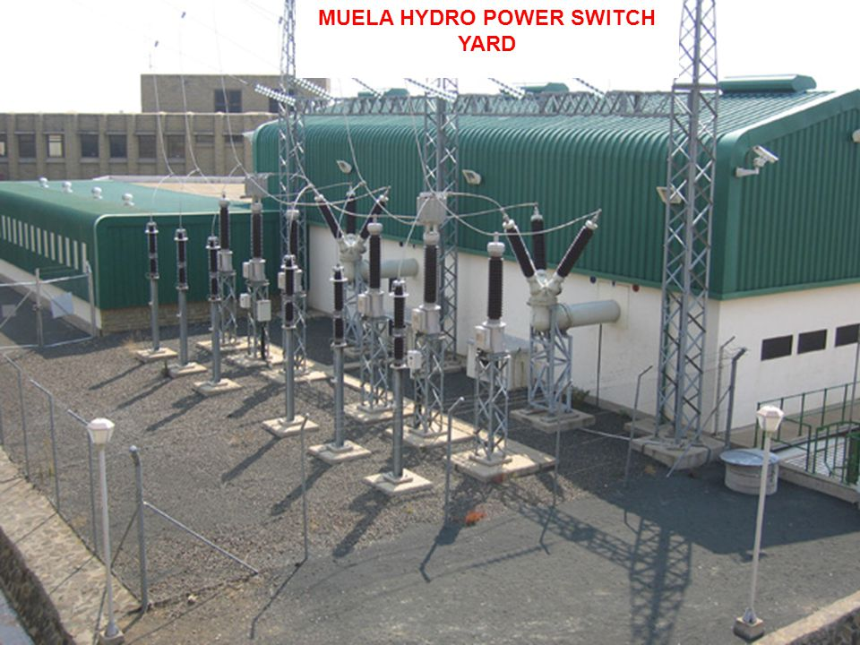 MUELA HYDRO POWER SWITCH YARD