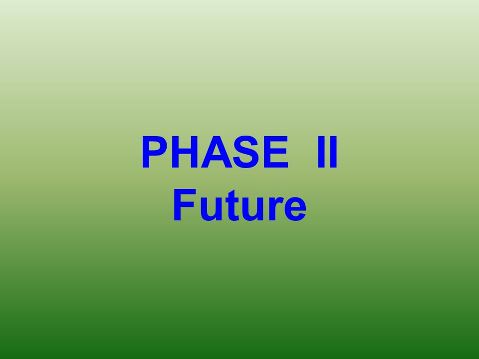 PHASE II Future