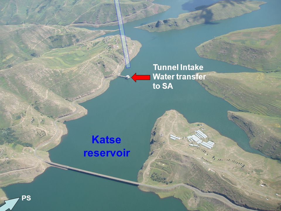 Tunnel Intake Water transfer to SA Katse reservoir PS