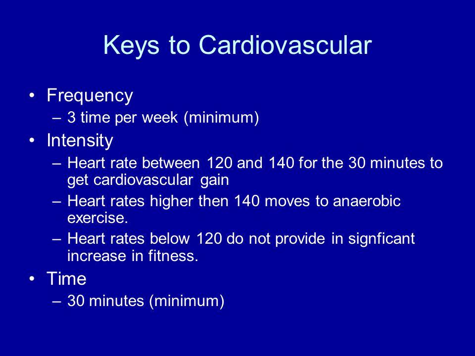 Keys to Cardiovascular