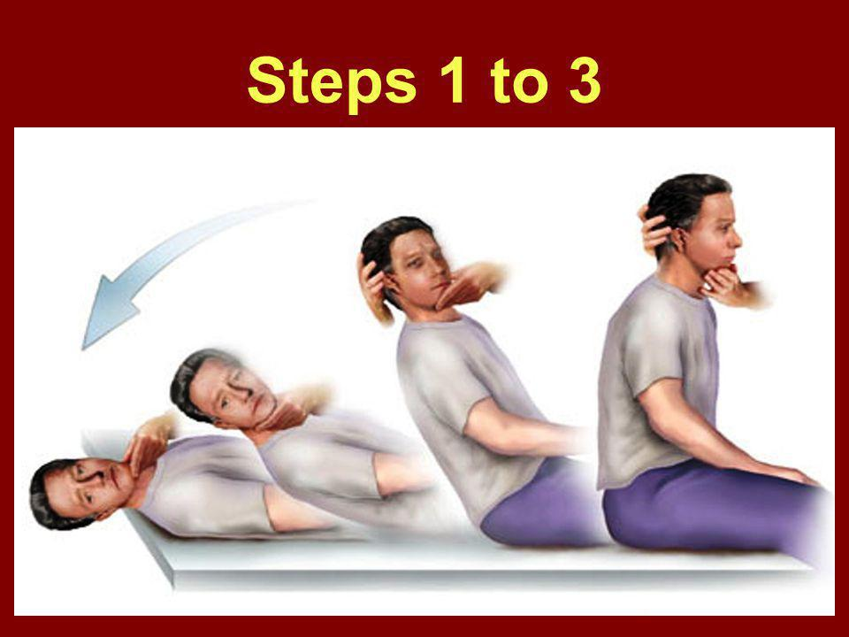 Steps 1 to 3
