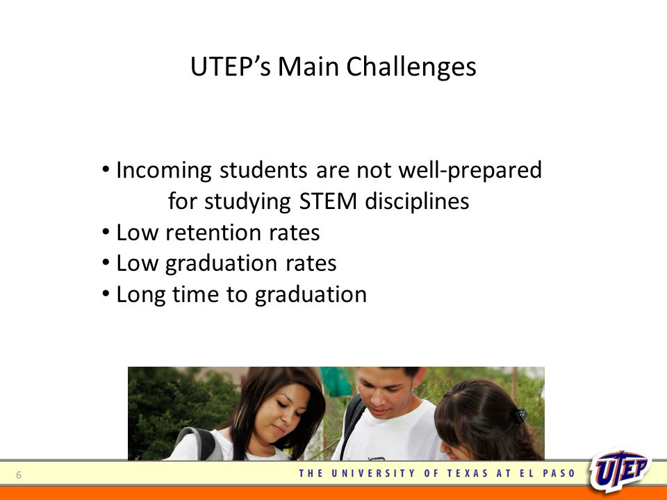 UTEP's Main Challenges