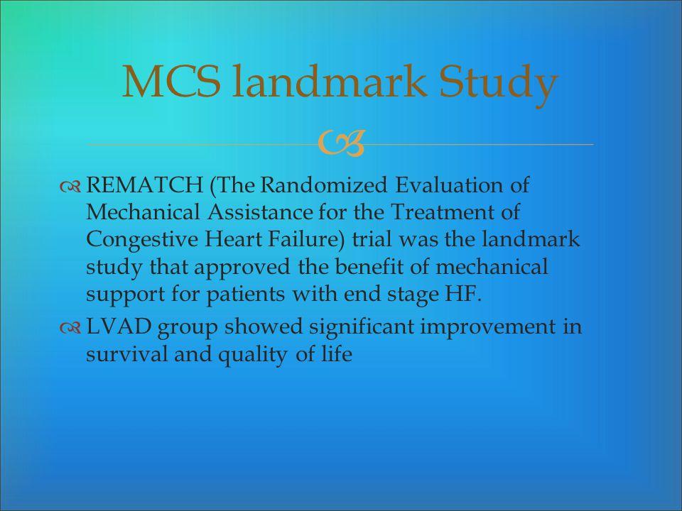 MCS landmark Study