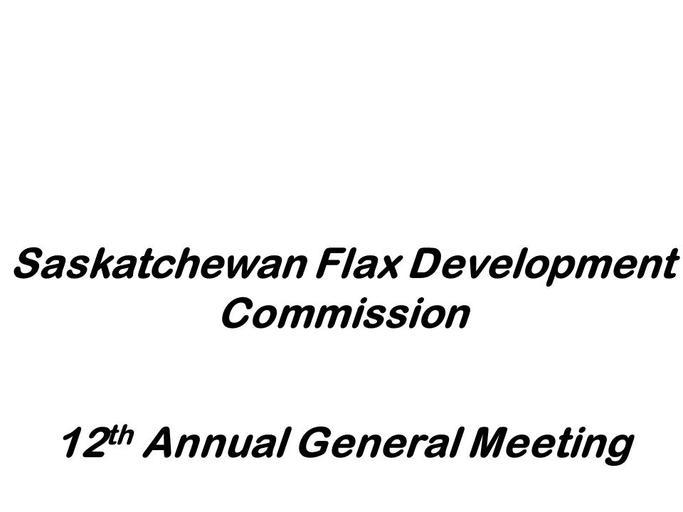 12th Annual General Meeting
