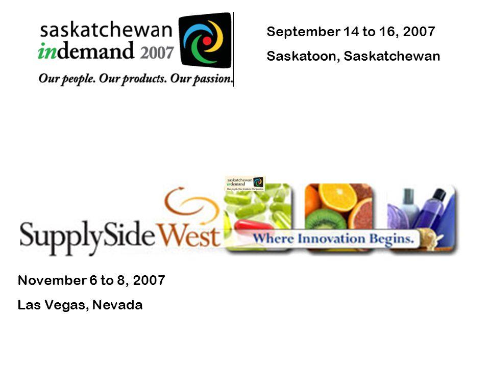 Saskatchewan indemand & Supply Side West
