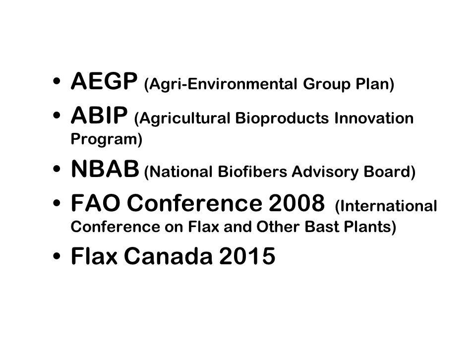 AEGP (Agri-Environmental Group Plan)