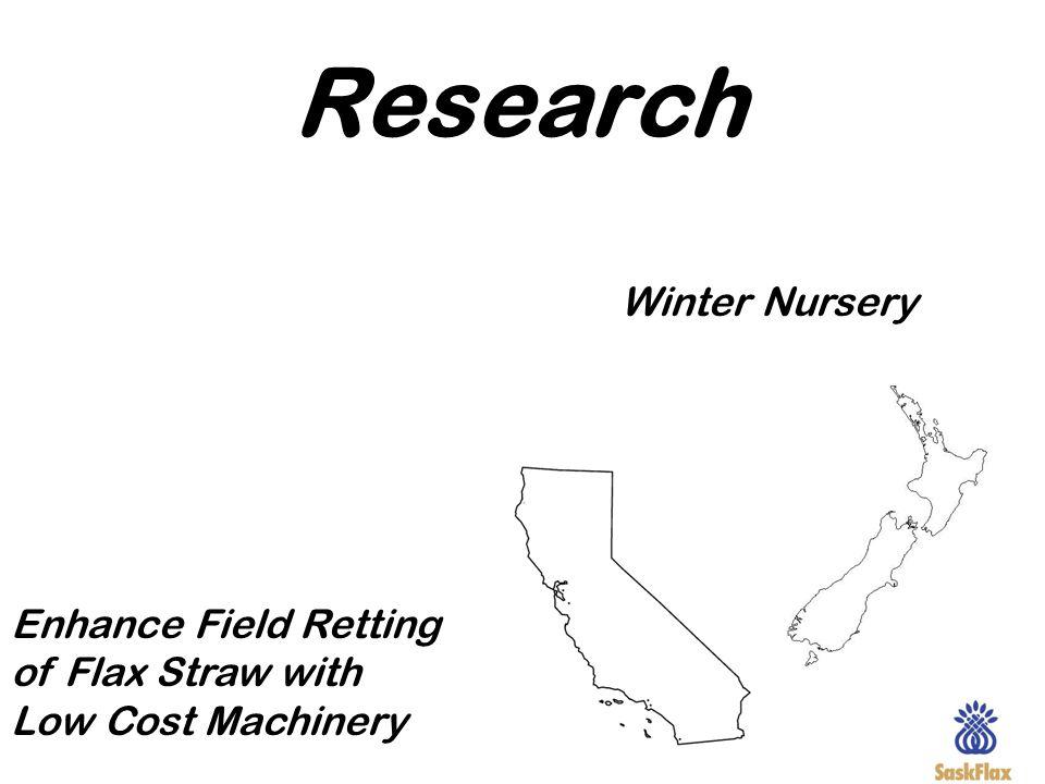 Research Winter Nursery