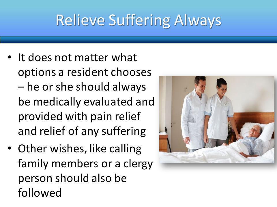 Relieve Suffering Always
