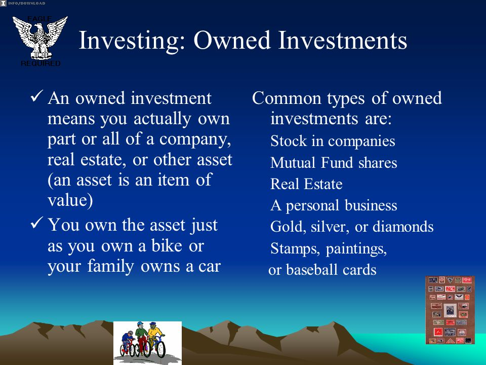 Investing: Owned Investments