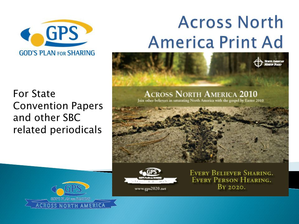 Across North America Print Ad