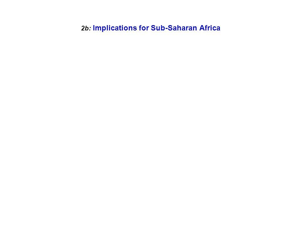 2b: Implications for Sub-Saharan Africa