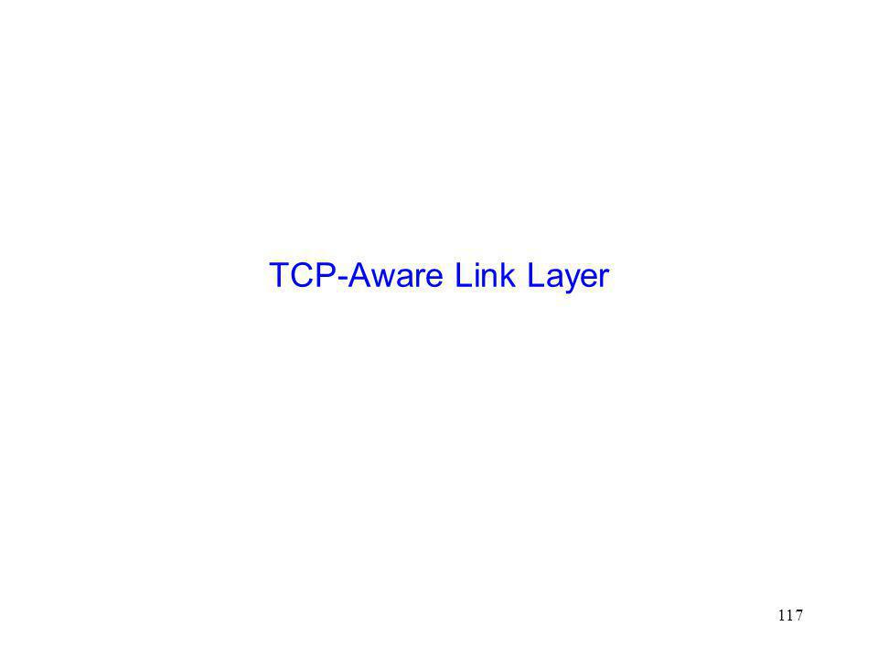 TCP-Aware Link Layer