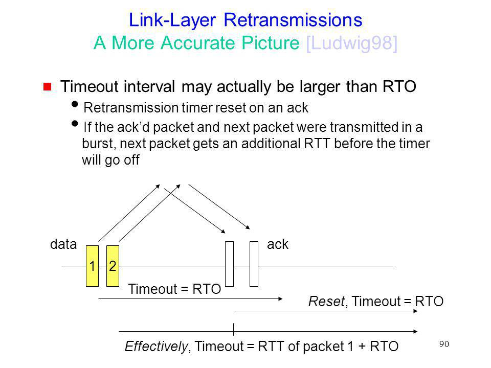 Link-Layer Retransmissions A More Accurate Picture [Ludwig98]