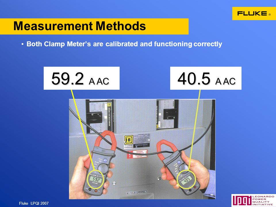 59.2 A AC 40.5 A AC Measurement Methods