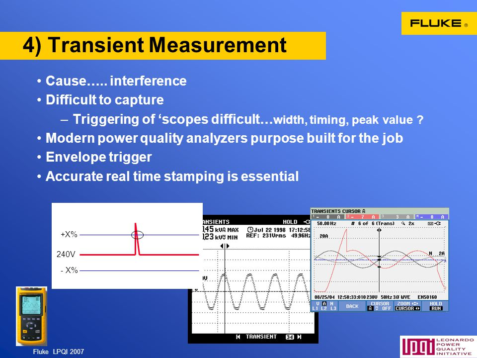 4) Transient Measurement