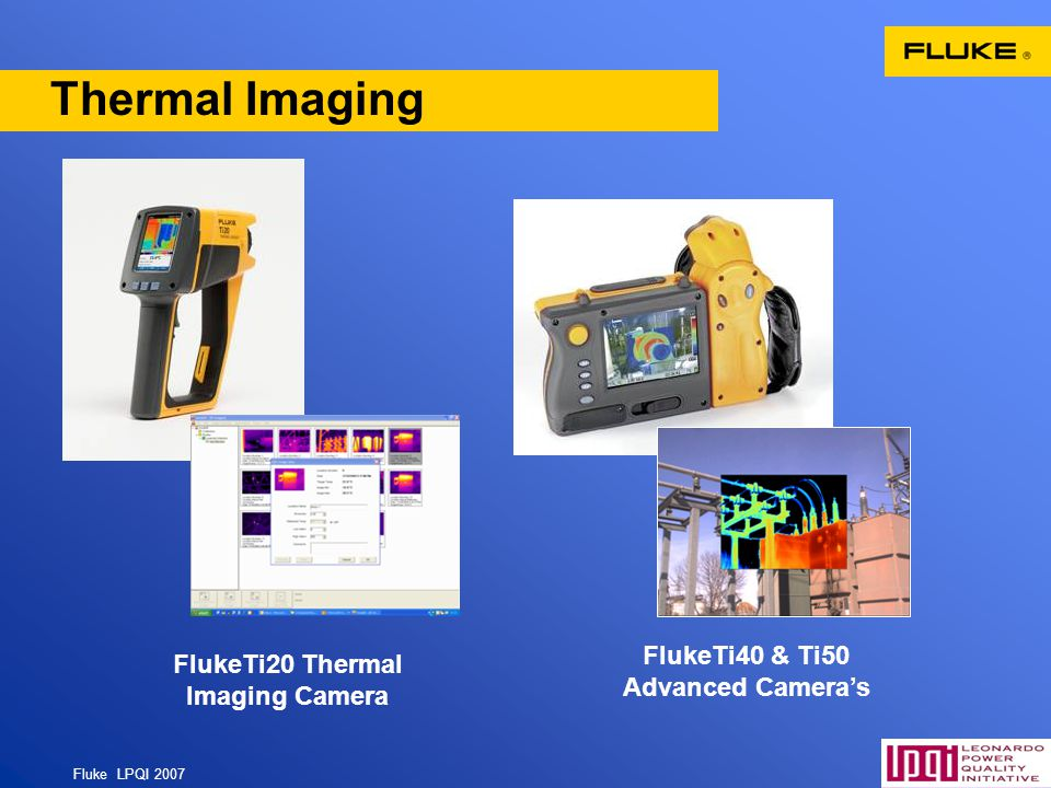 FlukeTi40 & Ti50 Advanced Camera's FlukeTi20 Thermal Imaging Camera