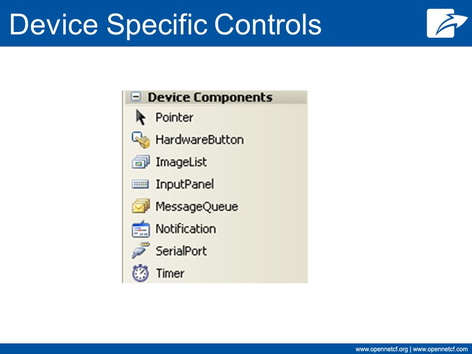 Device Specific Controls