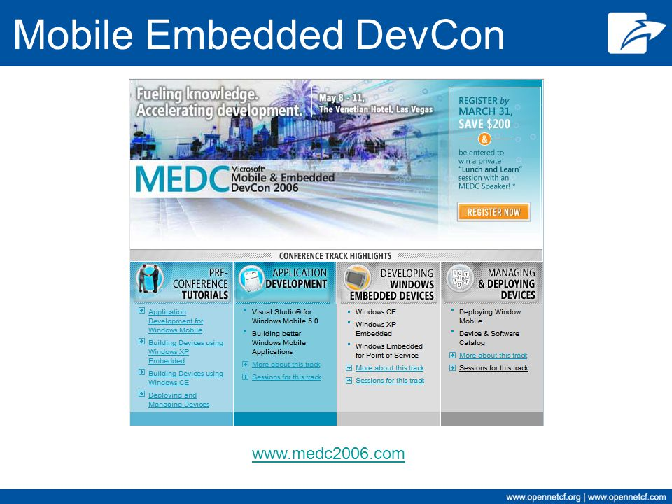 Mobile Embedded DevCon