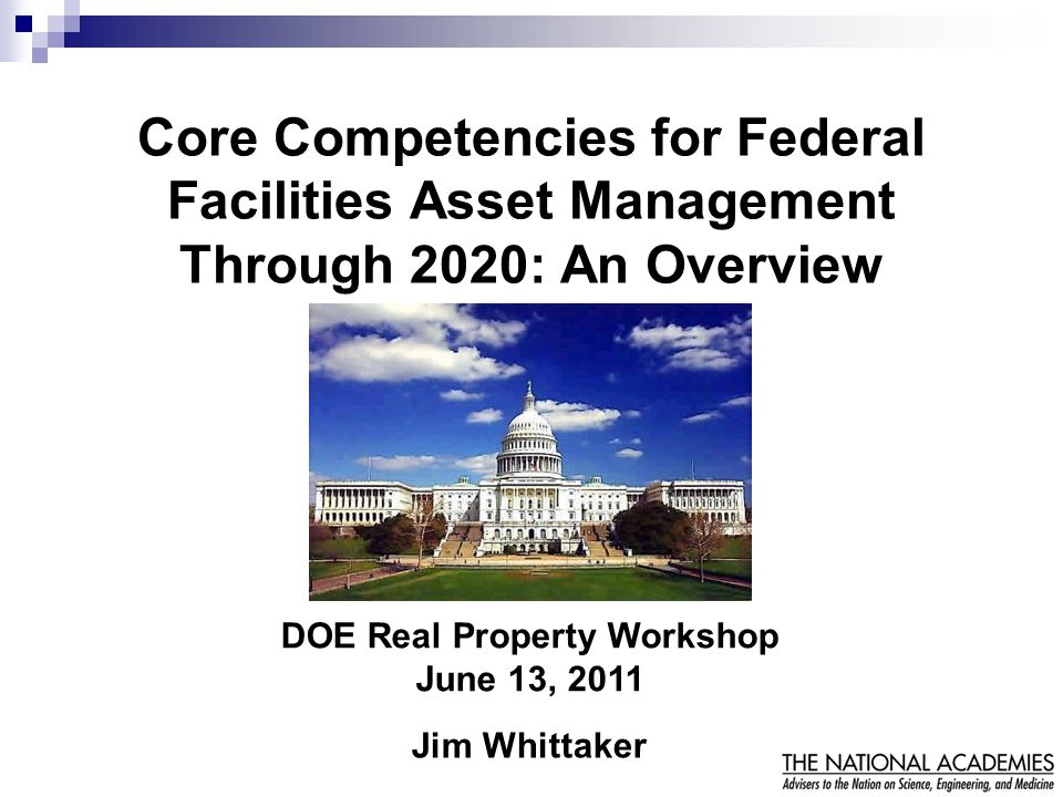 DOE Real Property Workshop