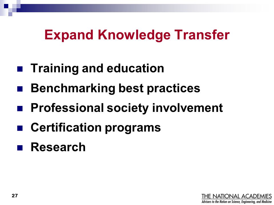 Expand Knowledge Transfer