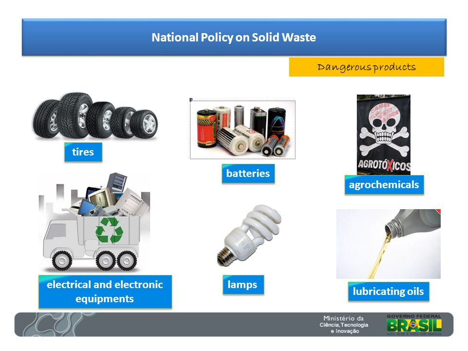 National Policy on Solid Waste electrical and electronic