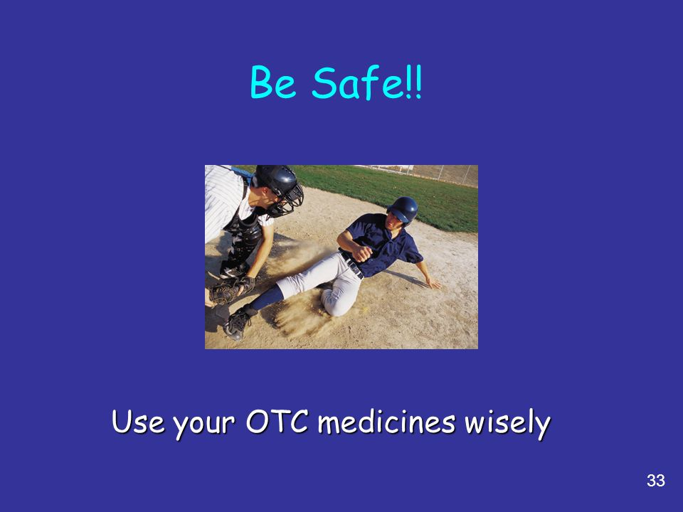 Use your OTC medicines wisely