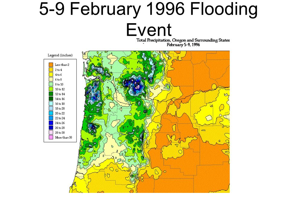 5-9 February 1996 Flooding Event
