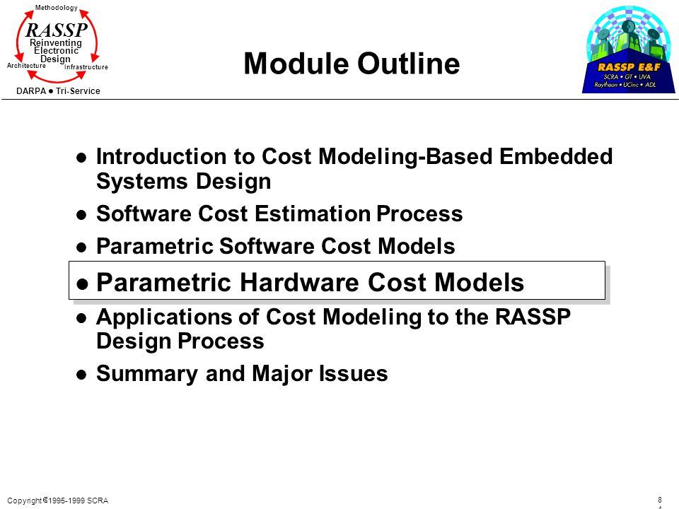 Module Outline Parametric Hardware Cost Models