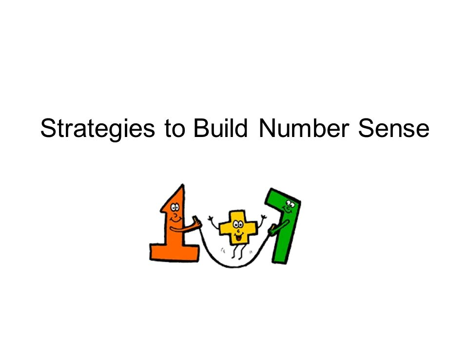 Strategies to Build Number Sense
