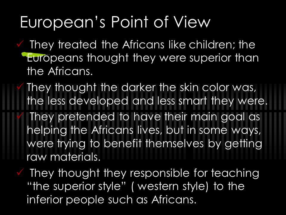 European's Point of View