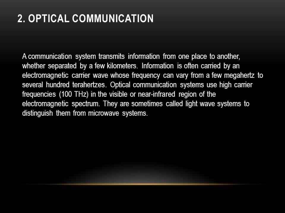 2. Optical Communication