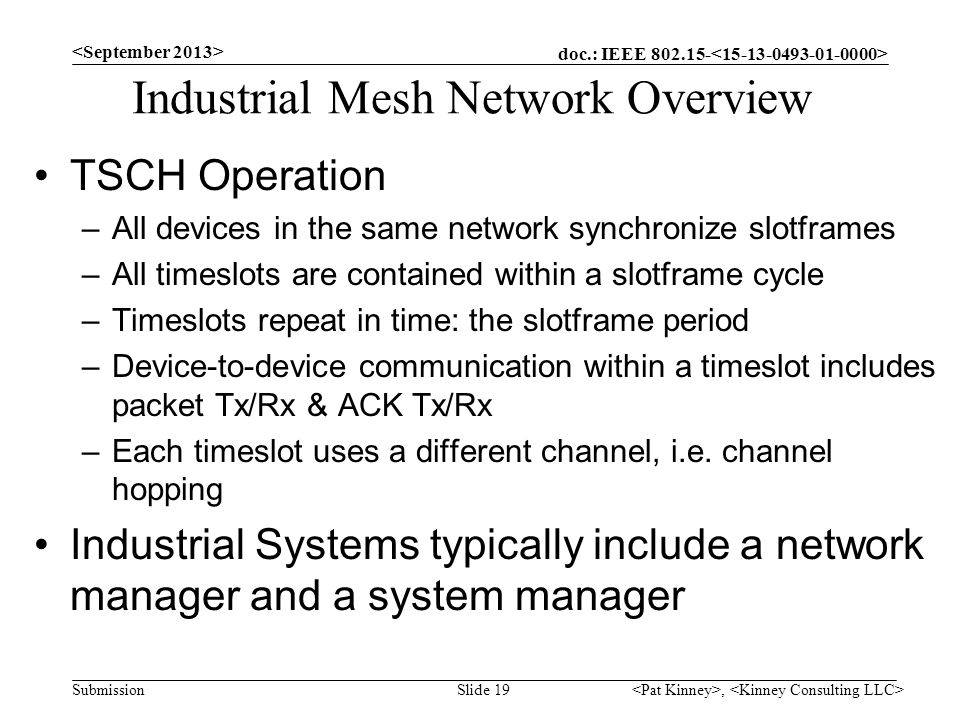 Industrial Mesh Network Overview