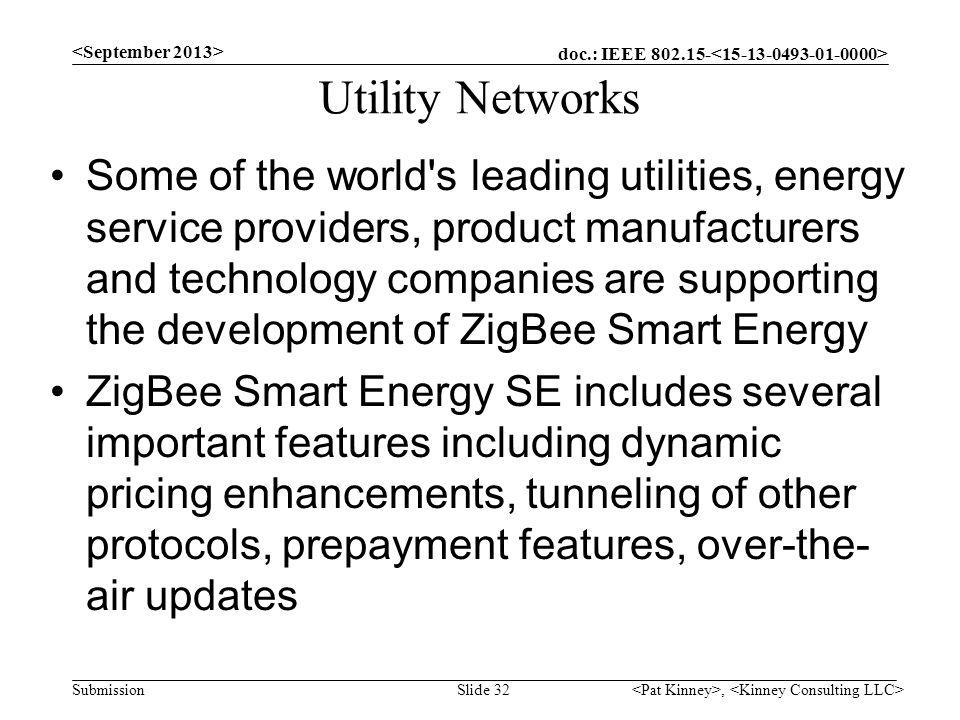 Utility Networks <September 2013>