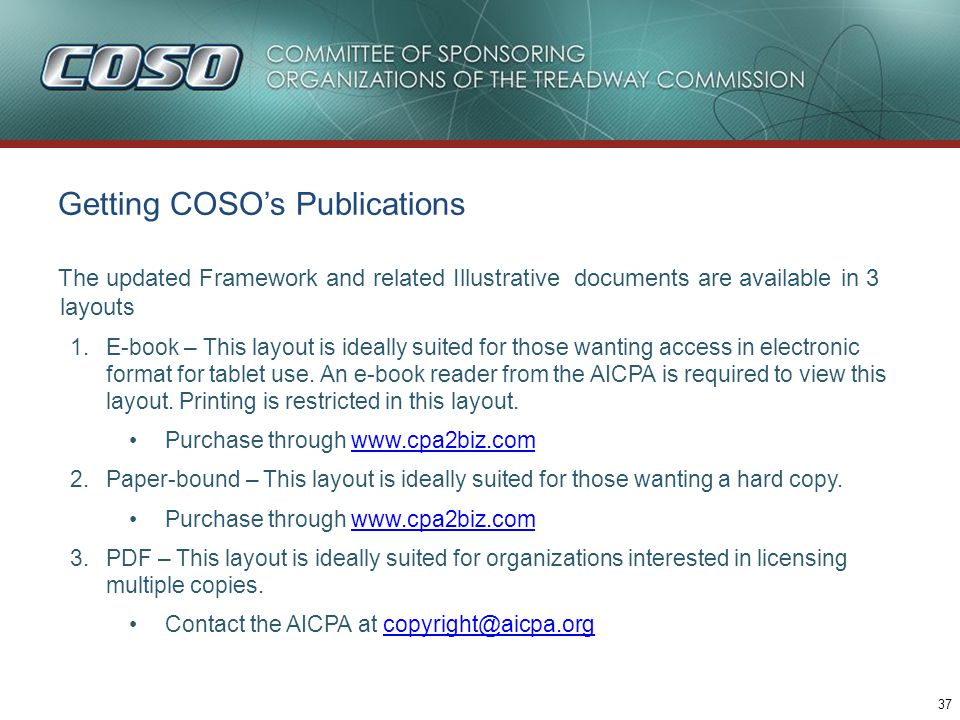 Table of contents coso project overview ppt video online download 38 questions comments fandeluxe Choice Image