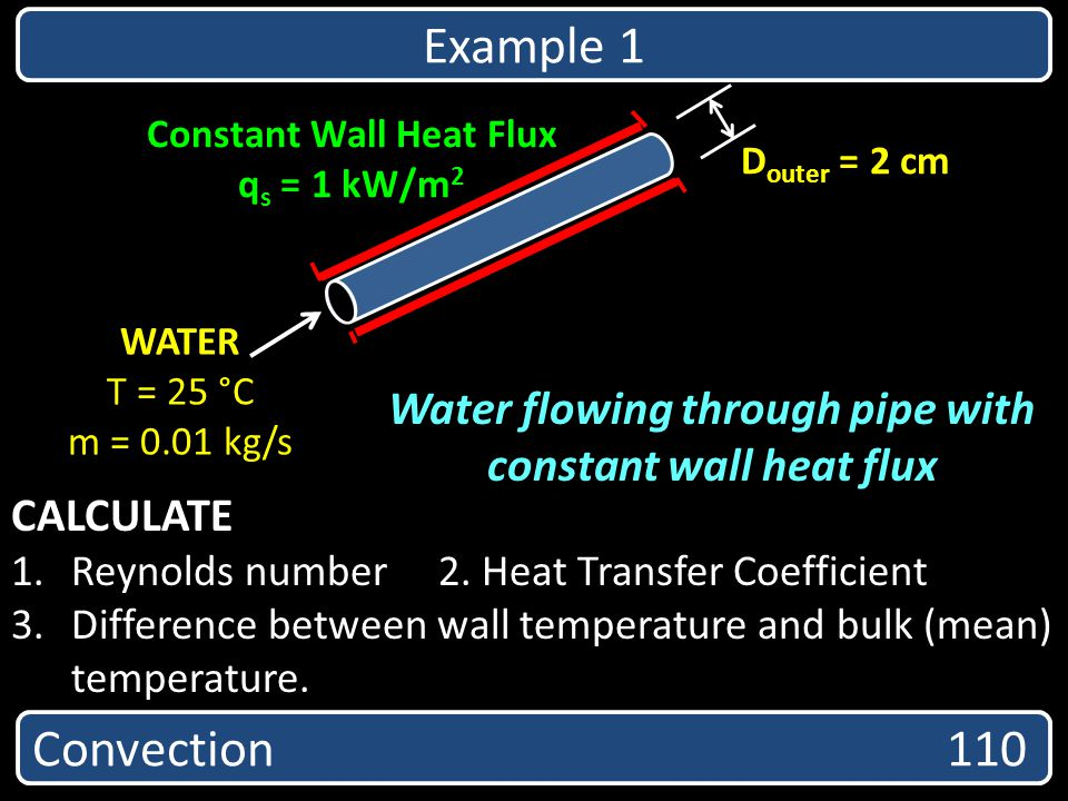 Constant Wall Heat Flux