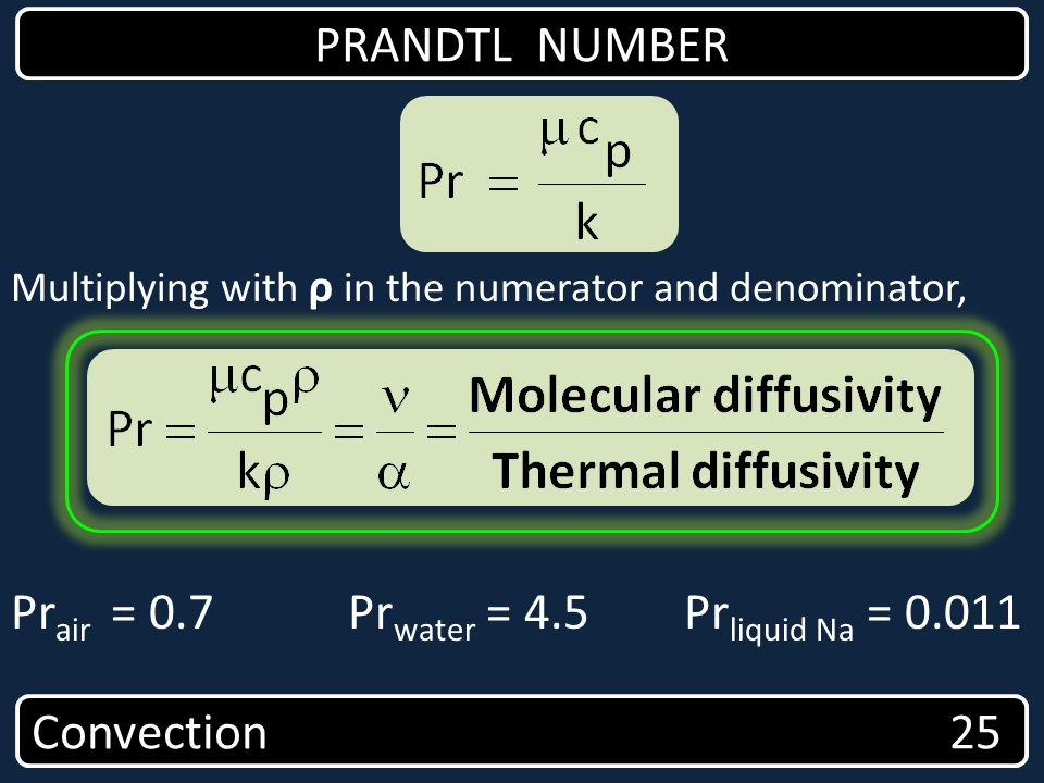 Prair = 0.7 Prwater = 4.5 Prliquid Na = 0.011