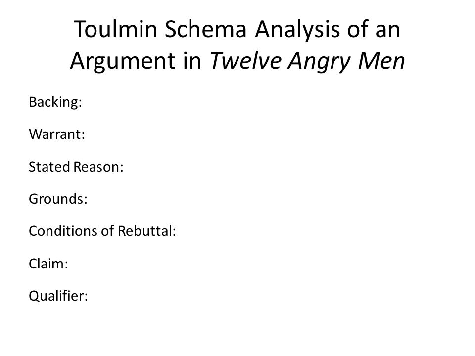 Twelve Angry Men: Summary & Analysis