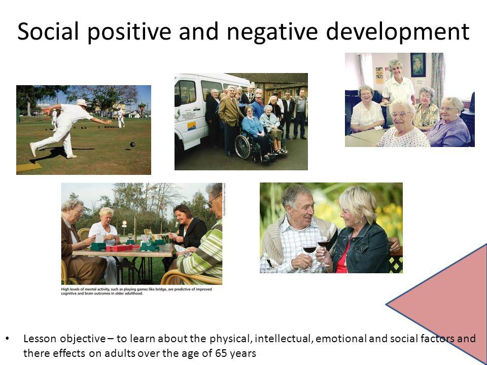 Social positive and negative development