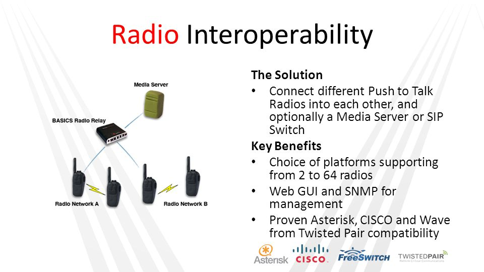 Radio Interoperability