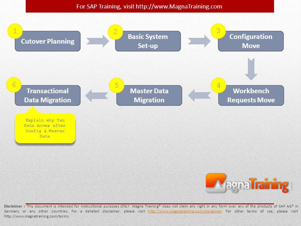 Transactional Data Migration Master Data Migration