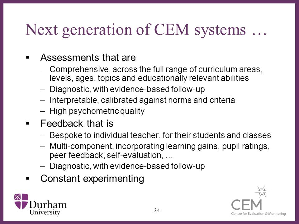 Next generation of CEM systems …