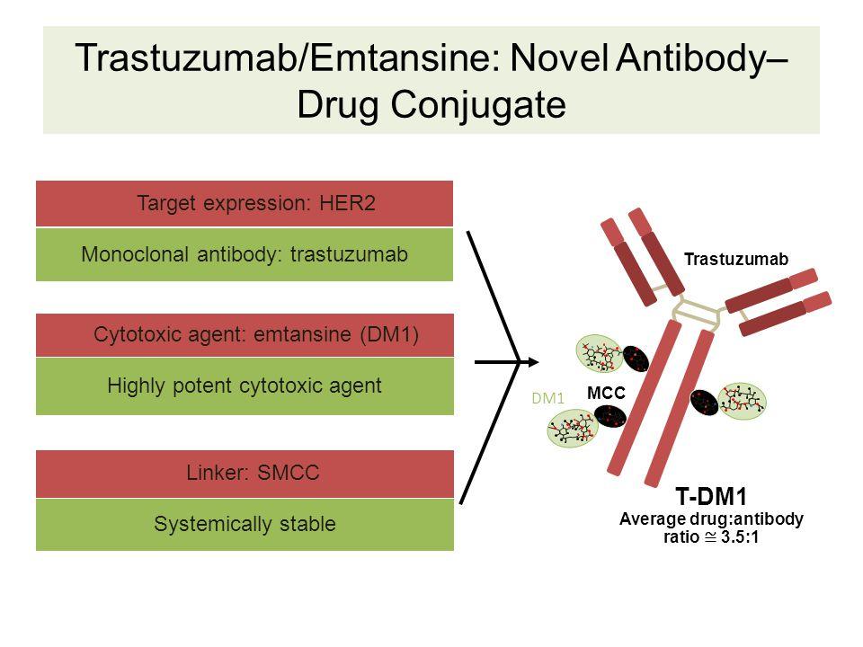 Trastuzumab/Emtansine: Novel Antibody–Drug Conjugate