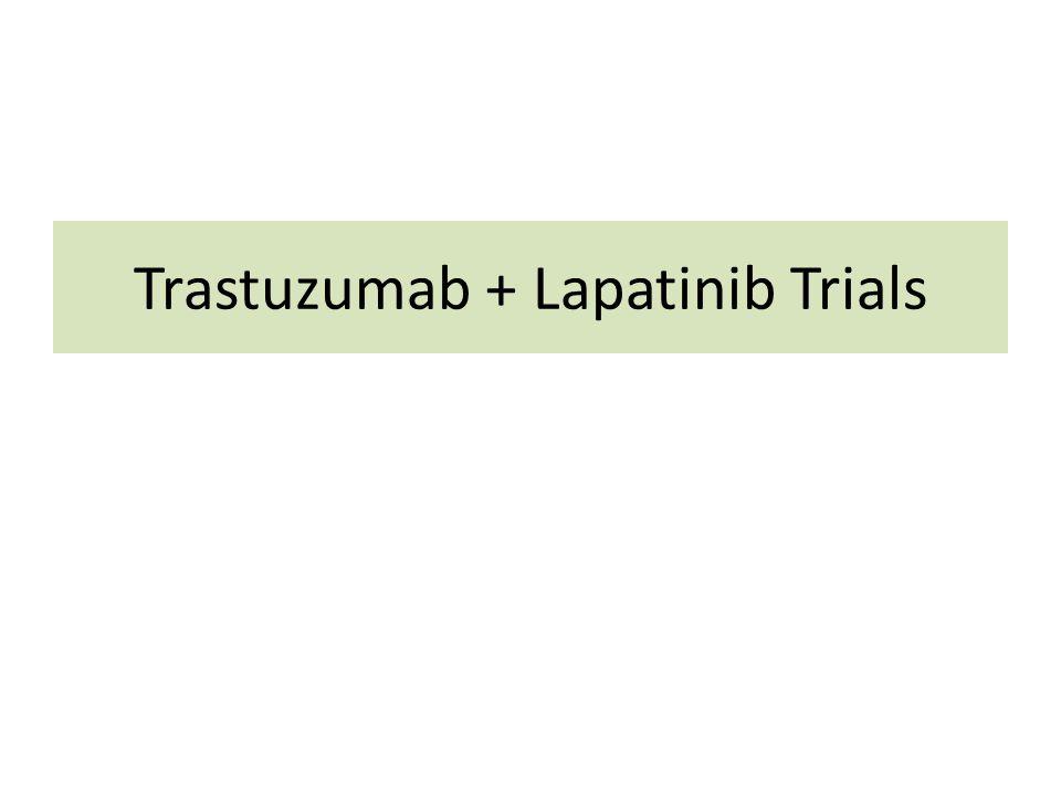 Trastuzumab + Lapatinib Trials