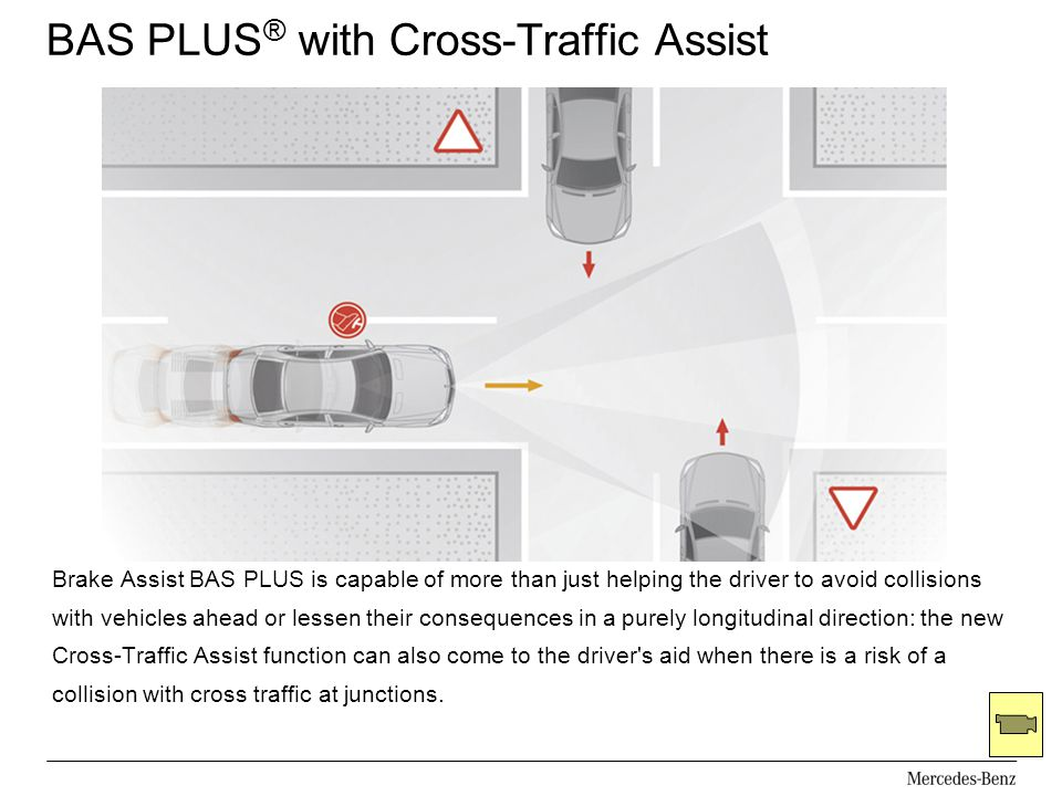 BAS PLUS® with Cross-Traffic Assist