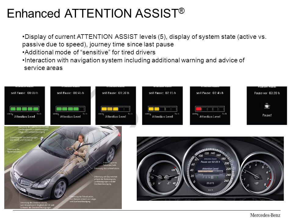 Enhanced ATTENTION ASSIST®