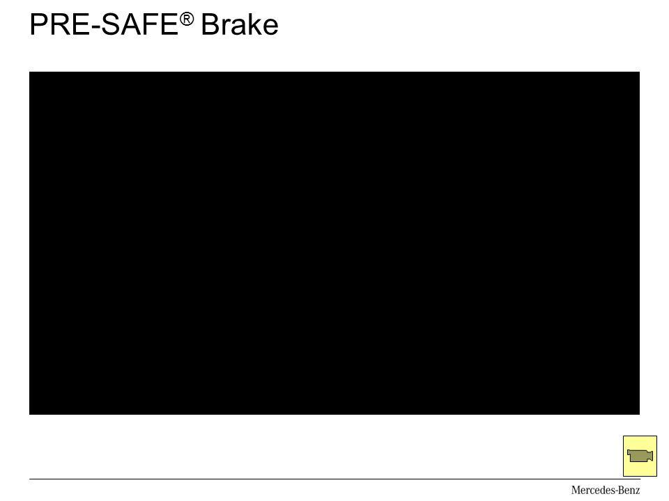 PRE-SAFE® Brake